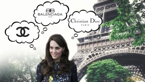 What Will Kate Wear in Paris?