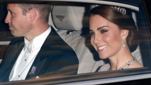 Kate Attends State Banquet to Honour Spanish Royals