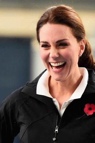 Kate Visits the National Tennis Centre