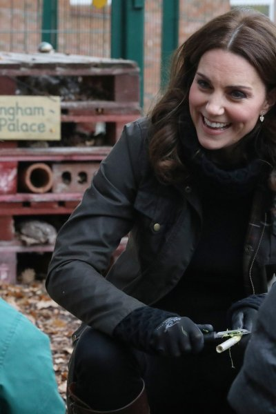 The Duchess of Cambridge Celebrates the RHS at Robin Hood Primary