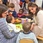 The Duchess of Cambridge visits Hornsey Road Children's Centre