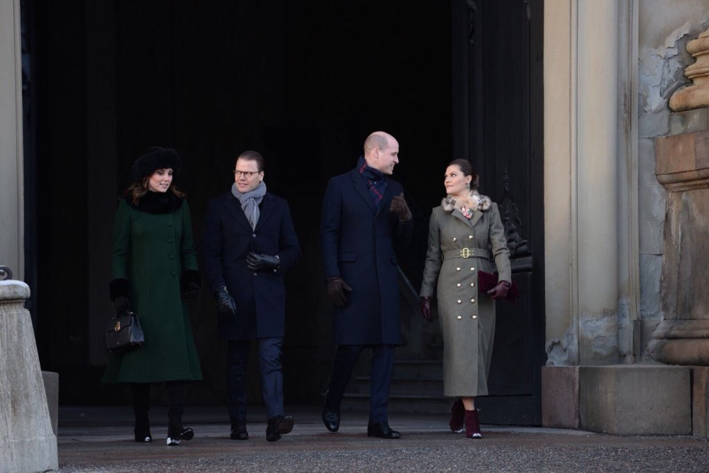 William Kate Victoria Daniel Stockholm