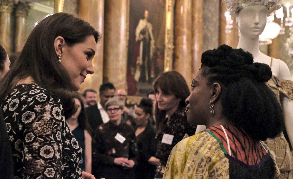 Kate Middleton Commonwealth Fashion Exchange