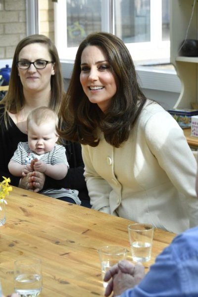The Duchess of Cambridge visits Pegasus Primary School with FamilyLinks