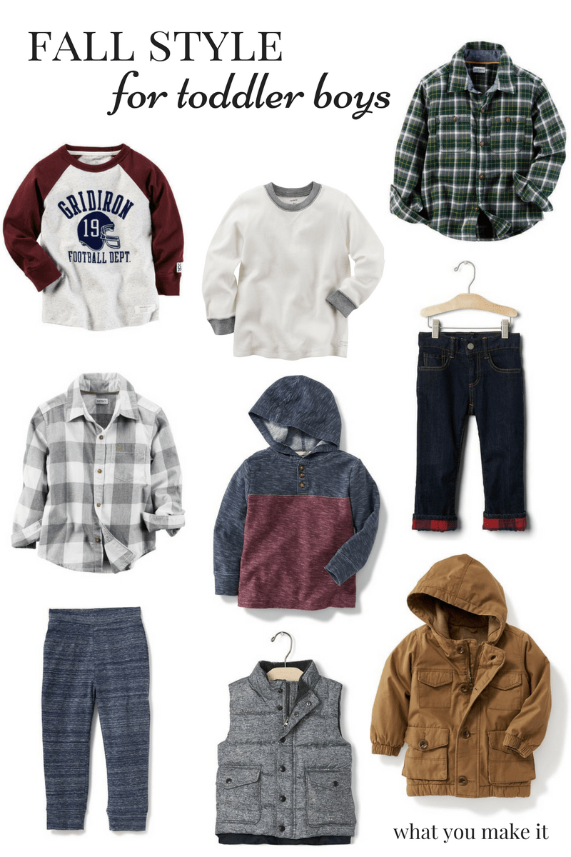 Fall Style for Toddler Boys