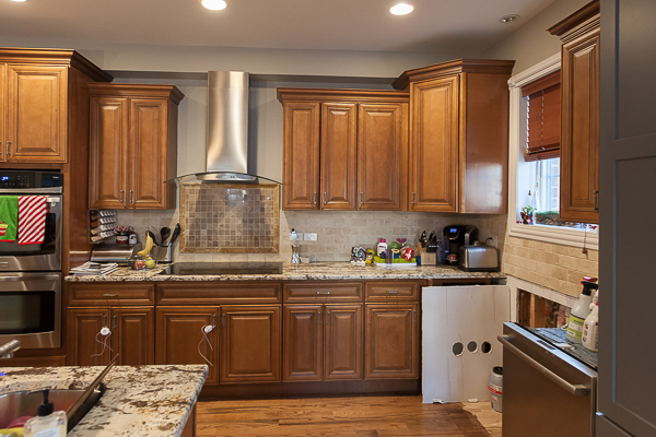 Ready Kitchen Cabinets Chicago Kitchen Chantilly Lace Refinish And Reface In Elmhurst