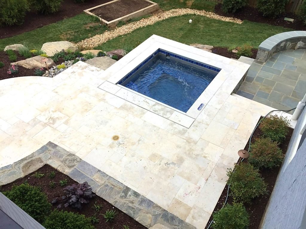 Jacuzzi Pool Installation Inground Pool Installation In Northern Virginia Hot Tub Spa