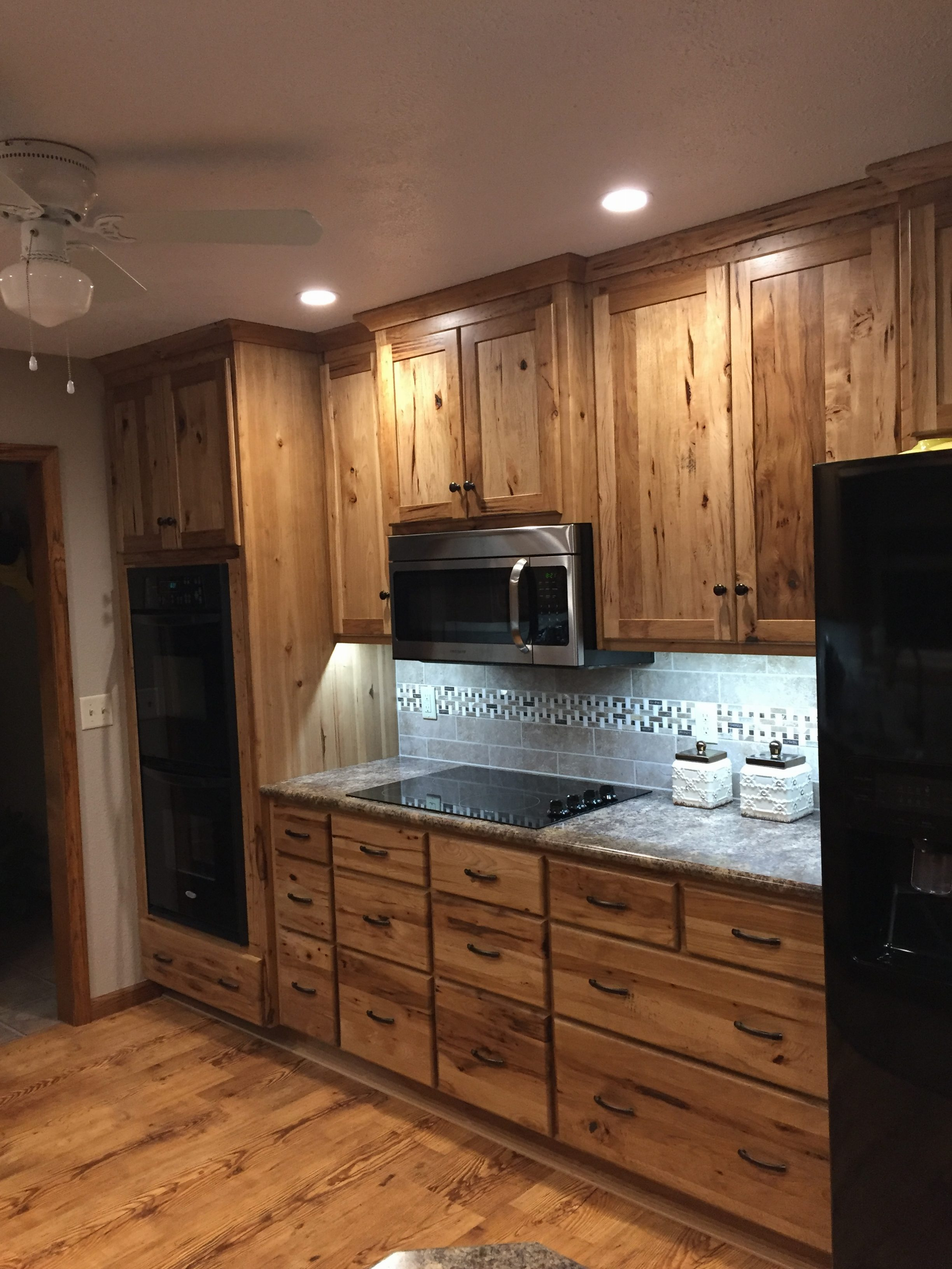 Denver Hickory Kitchen Cabinets Hickory Kitchens Cabinets Wow Blog