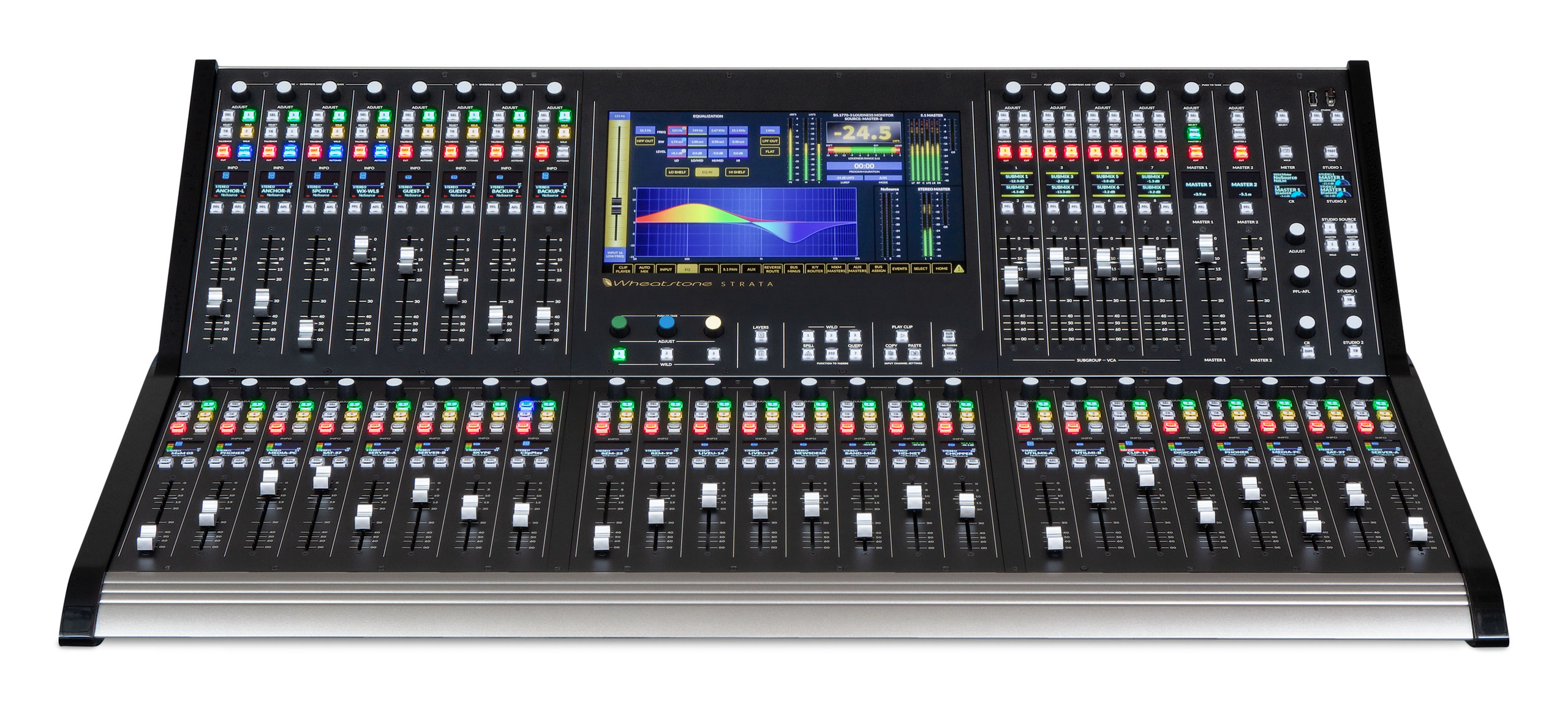Table De Mixage Video Wheatstone Audio For Radio And Television Broadcasting