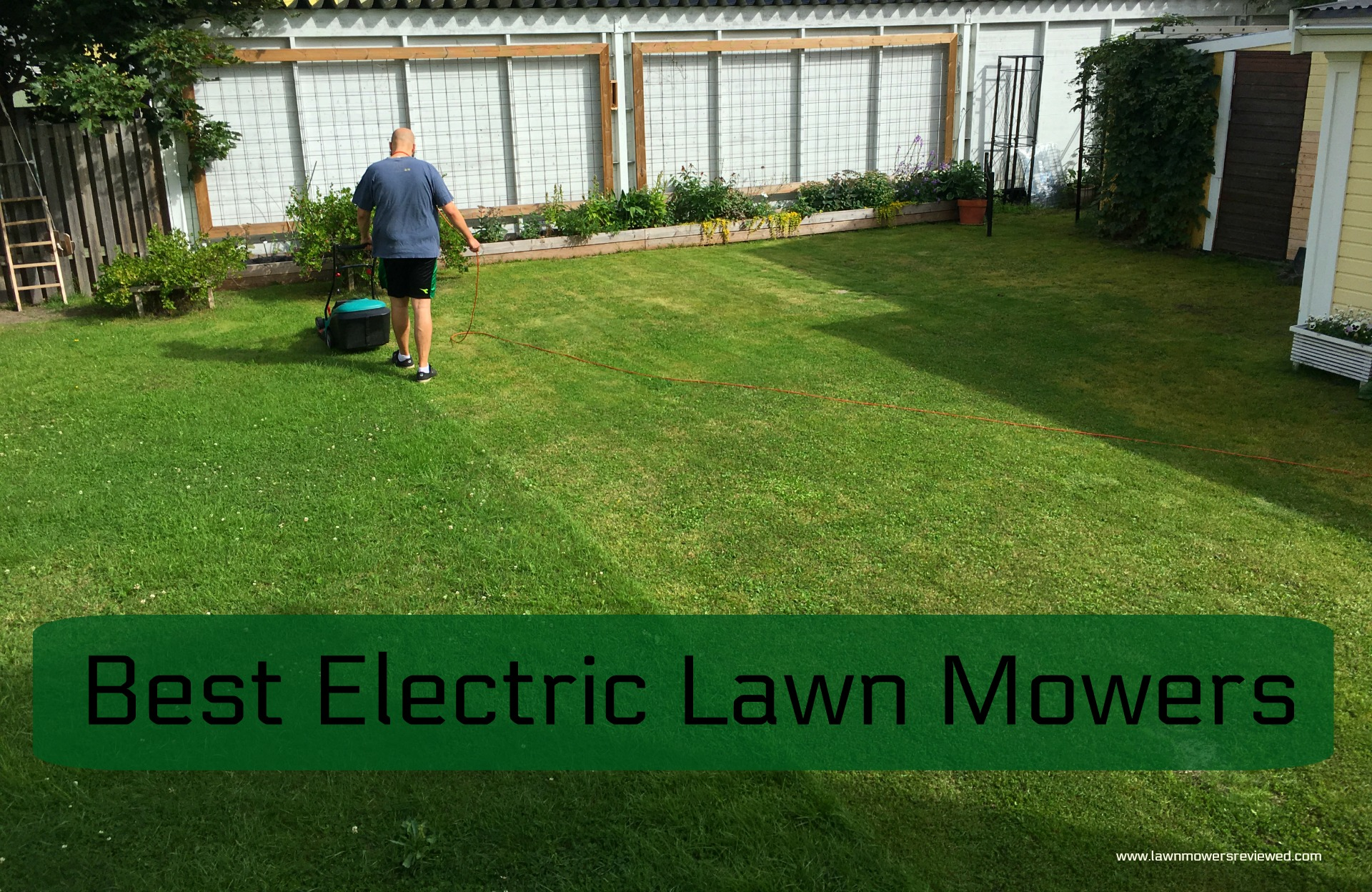 Electric Lawn Mower Sale Best Electric Lawn Mower Guide Mel S Garden