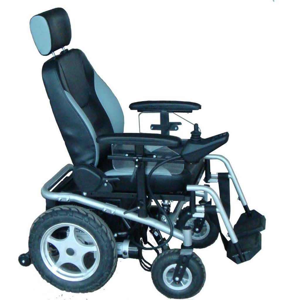 Electric Chair Mobility Wheelchair Assistance Power Wheelchair Casters