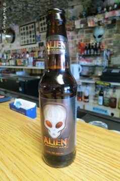Alien Beer (it was quite tasty)