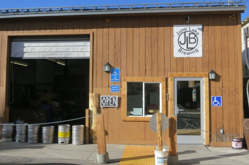 Super relaxed June Lake Brewing