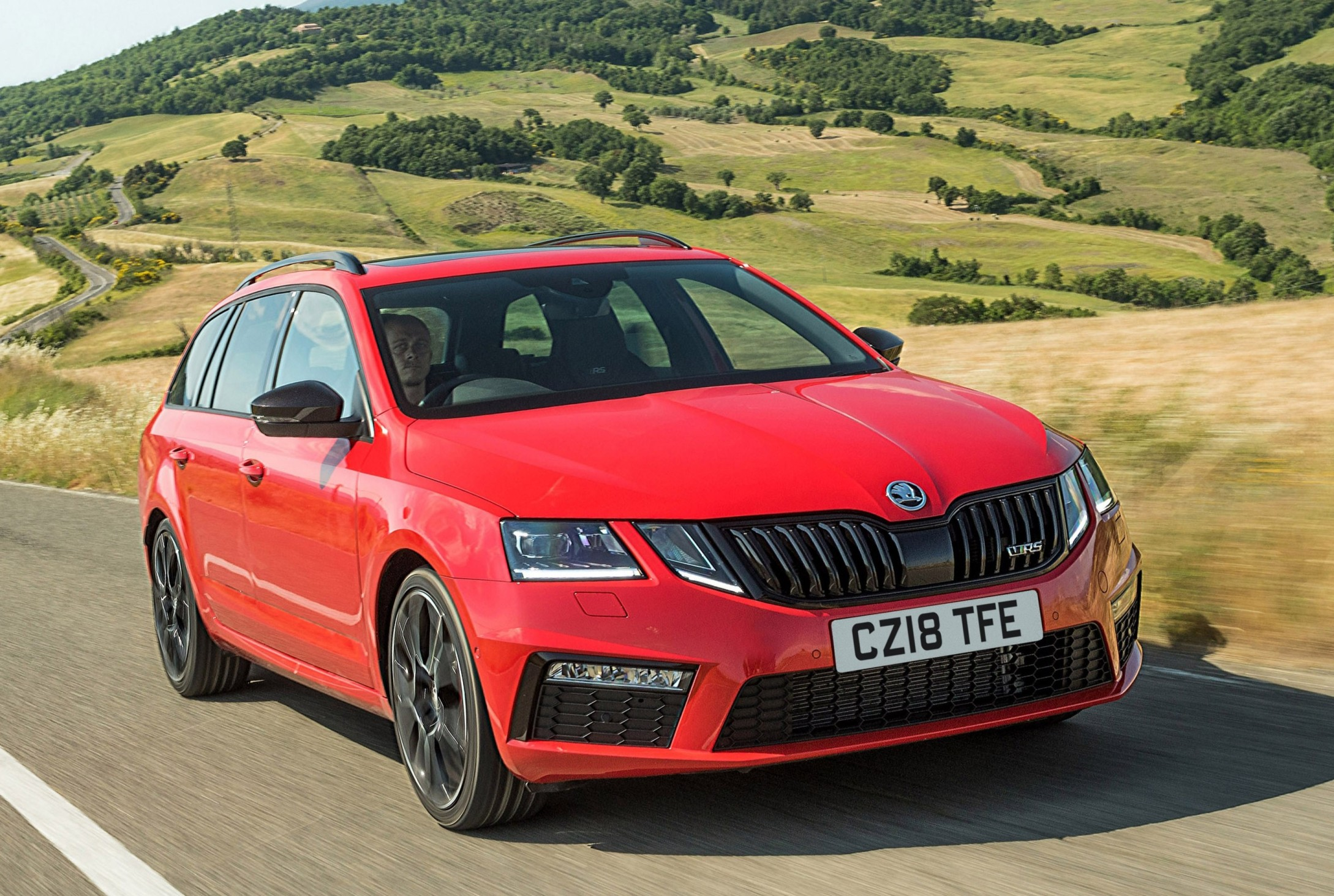 Skoda Octavia Vrs Estate Skoda Octavia Vrs Estate Road Test Wheels Alive