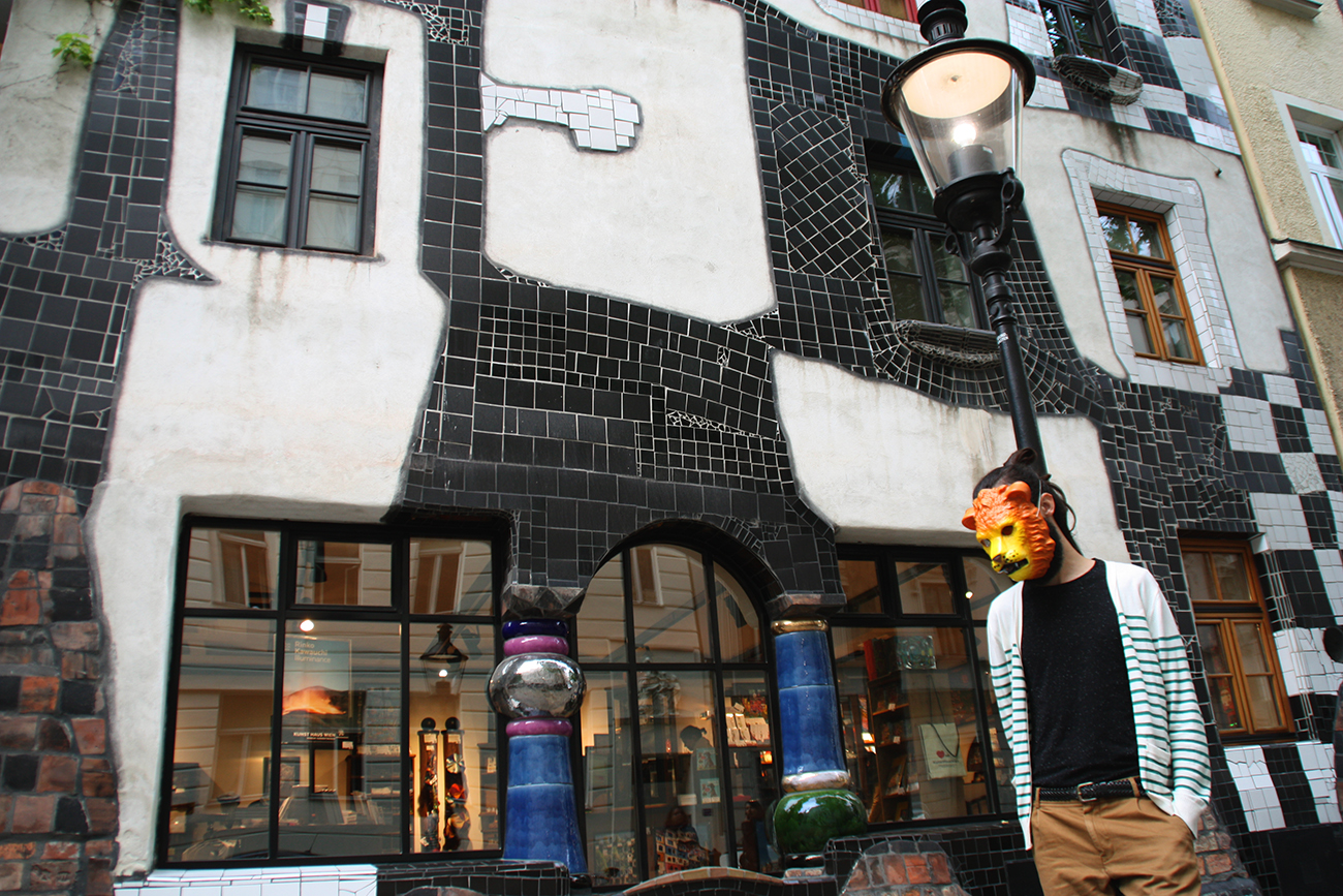 Container Haus Wien Hundertwasser The Straight Line Is Ungodly When Audrey Met Darcy
