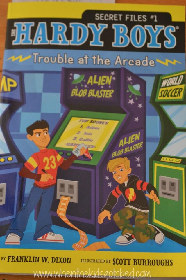 hardy boys arcade