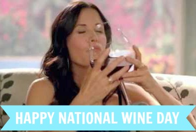 Wordless Wednesday – Happy National Wine Day!! #NationalWineDay