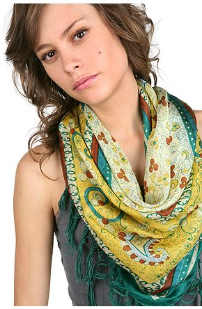 The Accessorizer How To Wear Lightweight SpringSummer Scarves