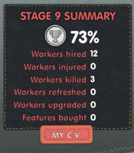 Sweatshop Game CV