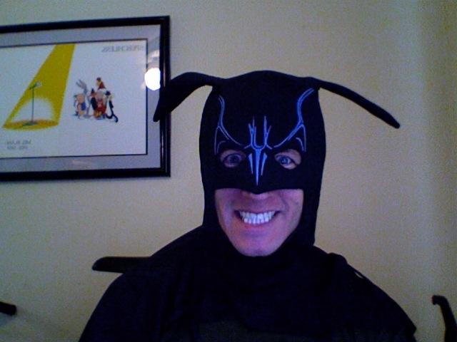 Kyle is Batman