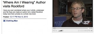 """'Where Am I Wearing"""" Author visits Rockford_1289405176707"""