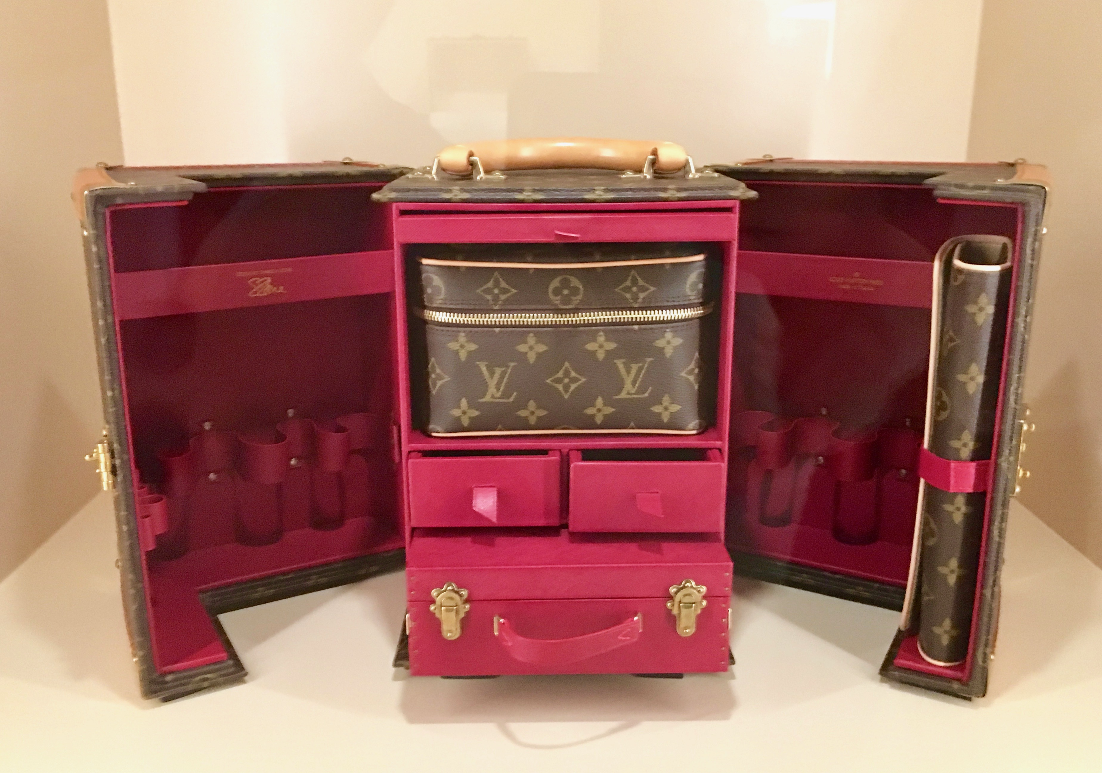 Red 1 Next To Time Capsule Louis Vuitton Time Capsule Where Art Inspires Beauty