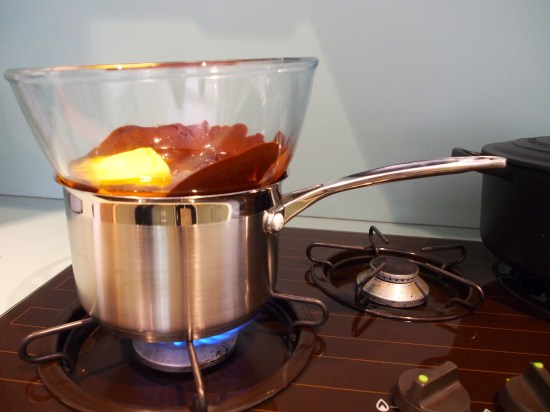 chocolate double boiler