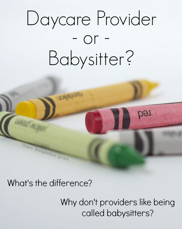 Daycare Provider or Babysitter? What to Call Your Child Care