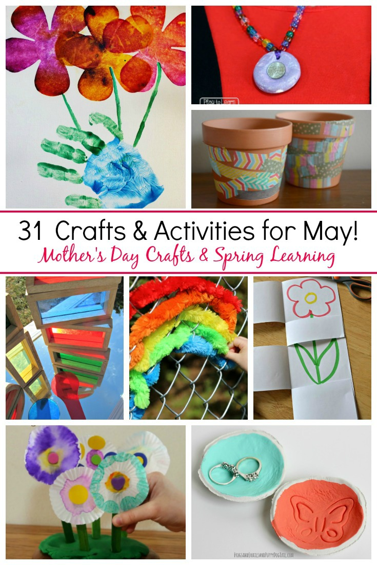 Art And Craft For Preschool 31 May Crafts Activities For Kids Where Imagination Grows