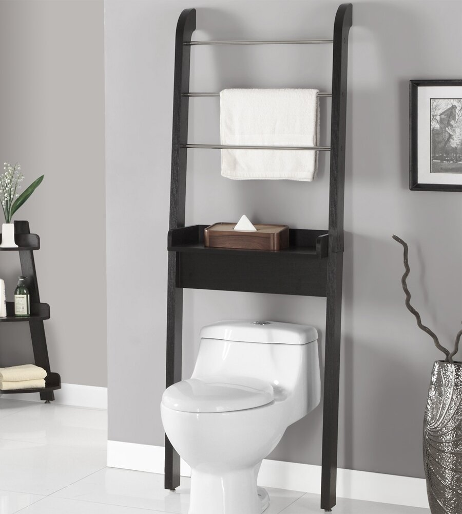 Bathroom Cabinets Over Toilet Bathroom: Interesting Toilet Etagere For Your Bathroom