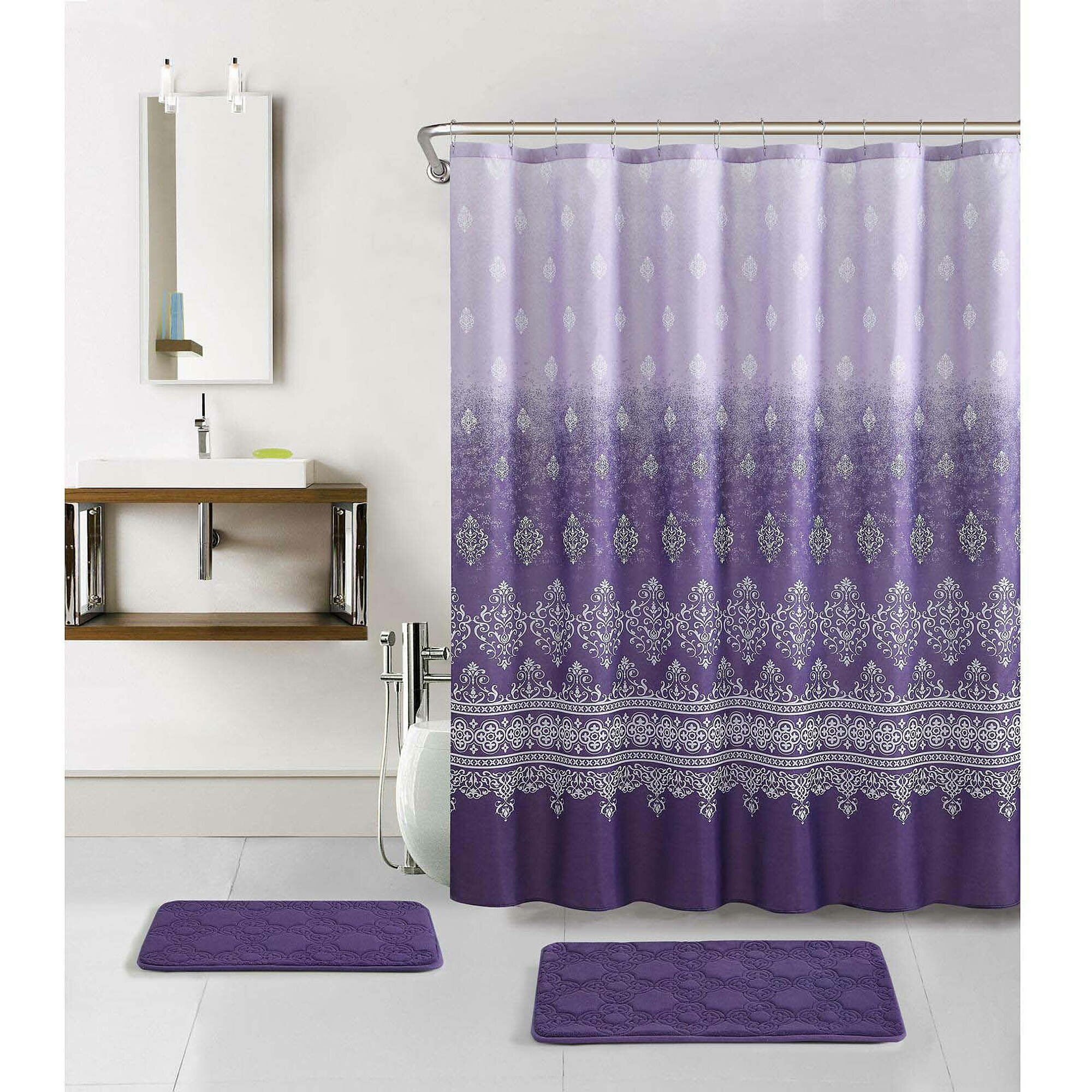 Bathroom Shower Curtains And Accessories Curtain Walmart Shower Curtain For Cute Your Bathroom