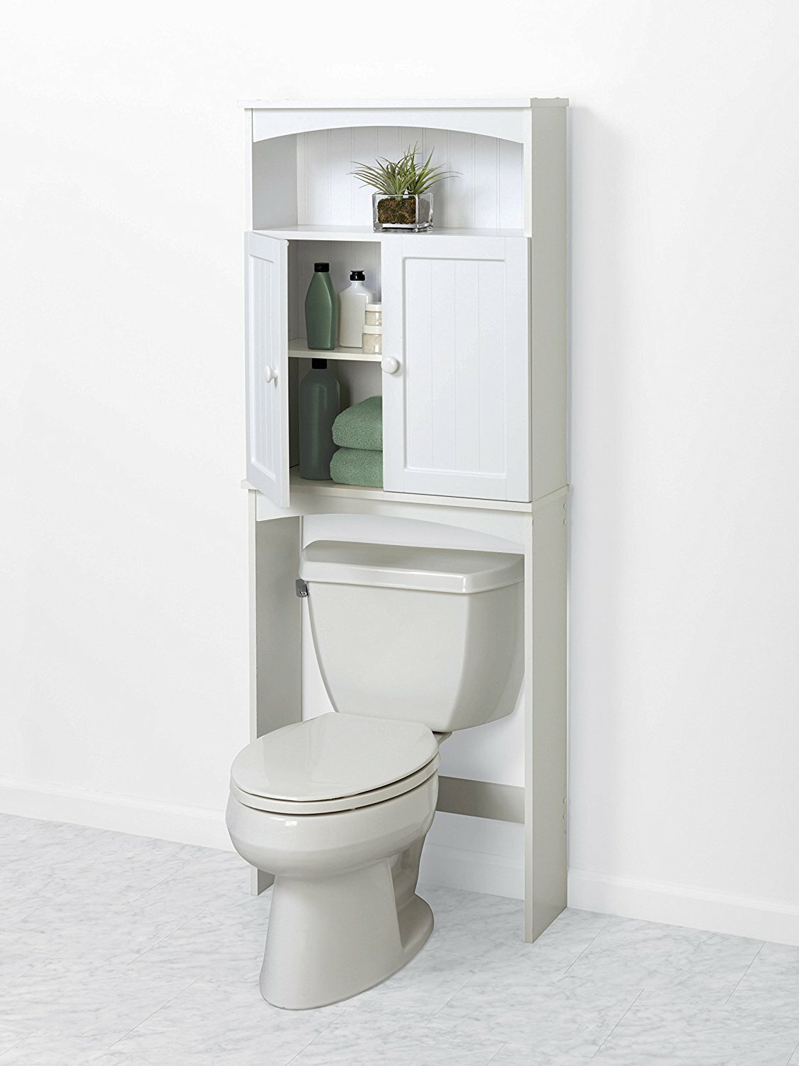 Space Saver Cabinets Kitchen Bathroom Metal Etagere Bathroom Toilet Etagere Space