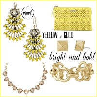 YELLOW + GOLD