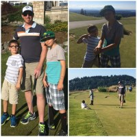 SUMMER FUN:  RUSTY PUTTER @ THE GOLF CLUB AT NEWCASTLE