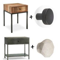 ADDING INTEREST TO A BEDSIDE TABLE
