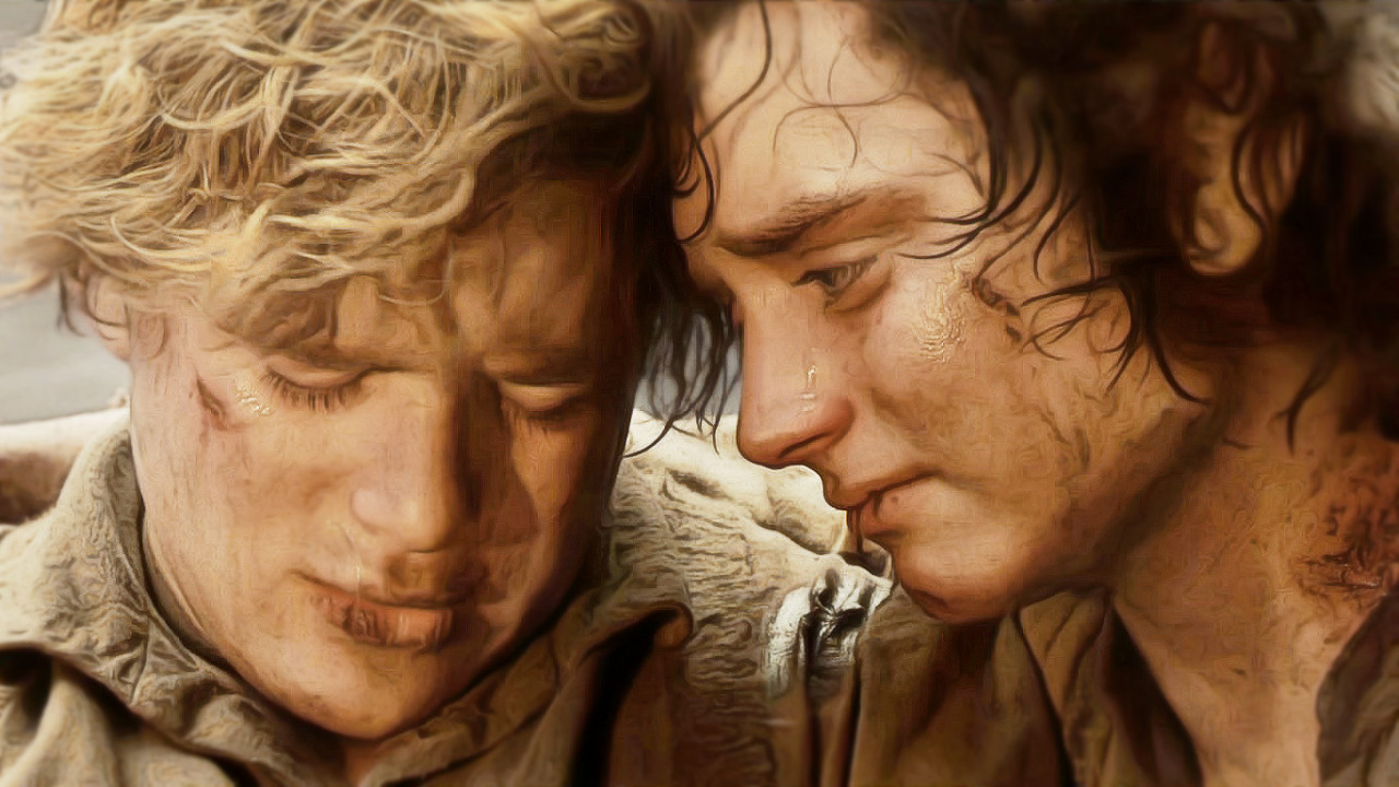 Lotr Fall Wallpaper Frodo The Writer Where The Dog Star Rages