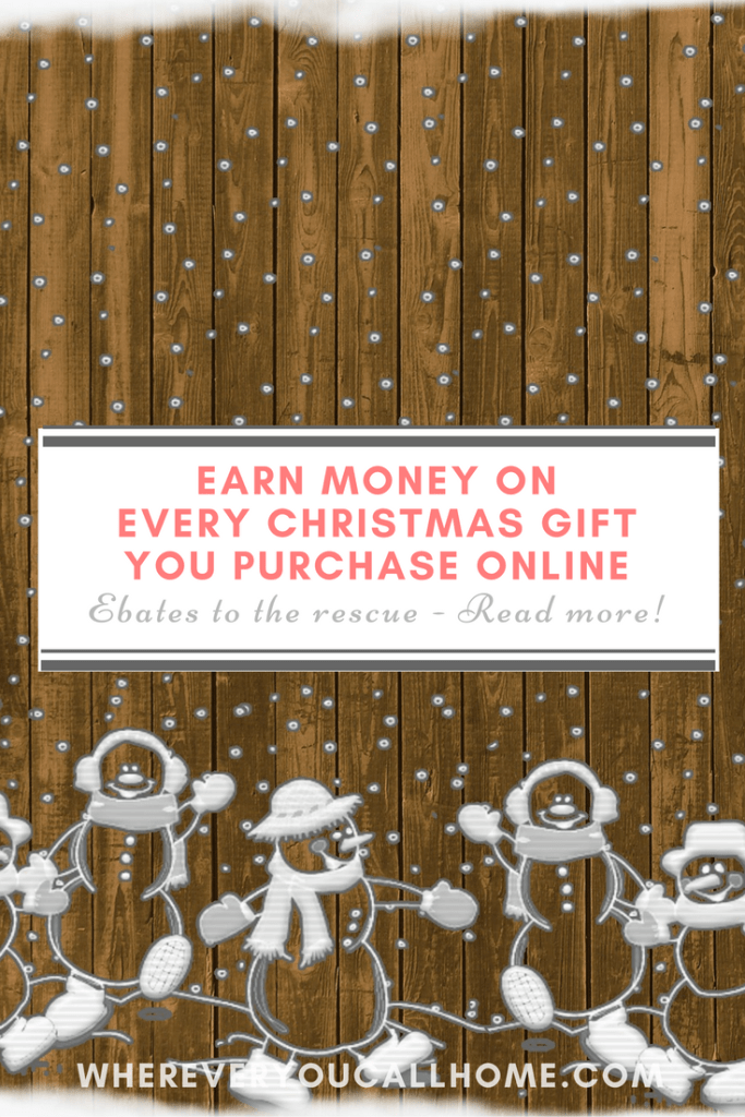 This is a perfect way for me to earn and save money on all the Christmas gifts and shopping I have to do!