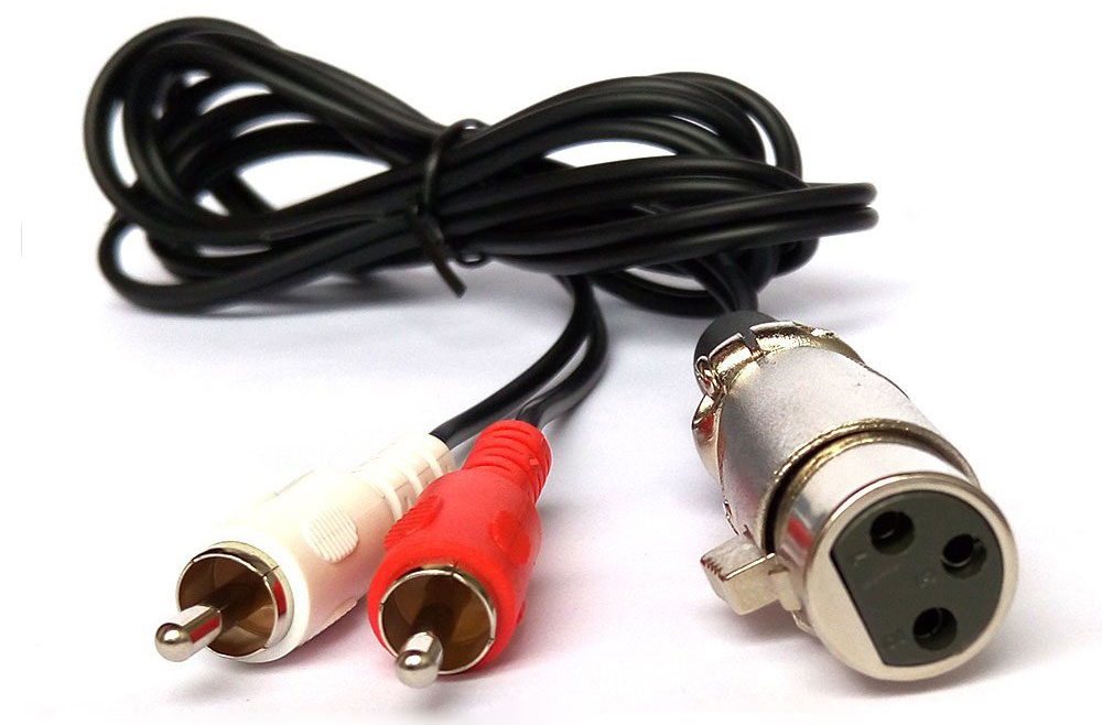 XLR to RCA Audio Adapter Cables  Converters - Which Adapter?