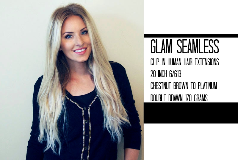 Ombre Hair Extensions By Glam Seamless E Picfo