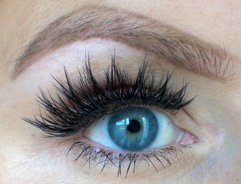 How to wax your eyebrows at home-- outline desired shape first.