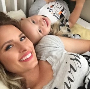 Mom defends choice of being a stay at home mom.