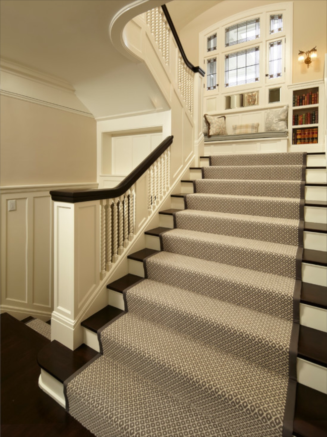 Stairway Designs Add A Descriptionhttp Houzz Carpet Stair Treads