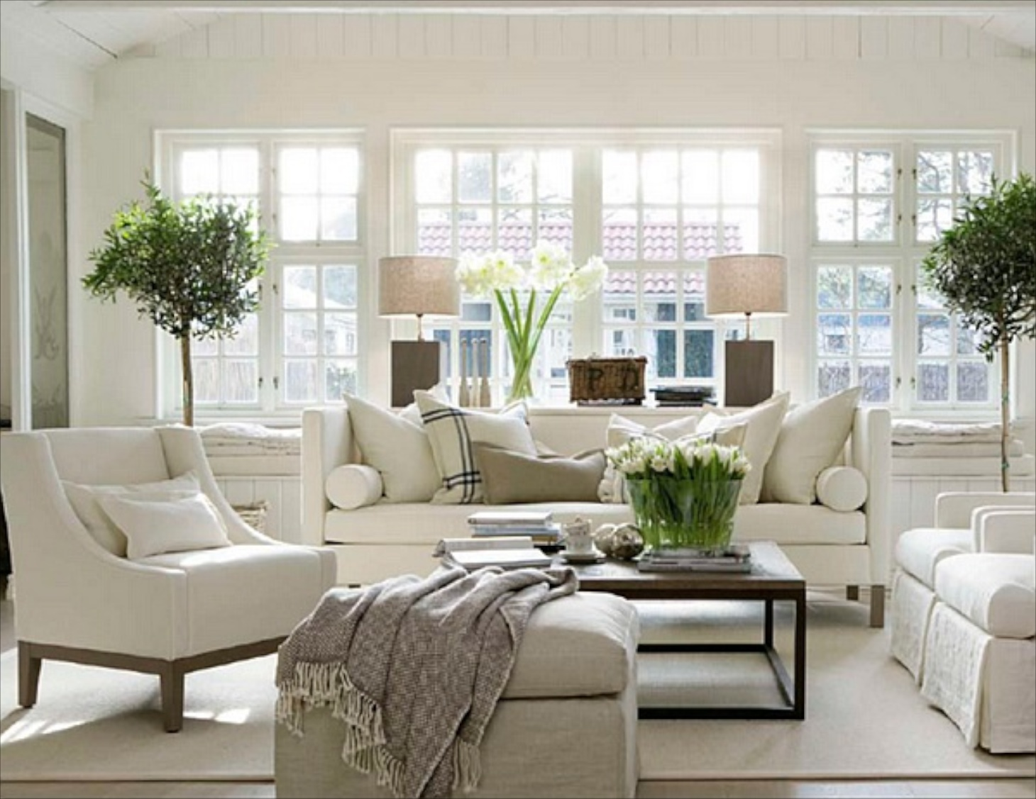 Traditional Living Rooms 22 Cozy Traditional Living Room Indoor Plant Modern White