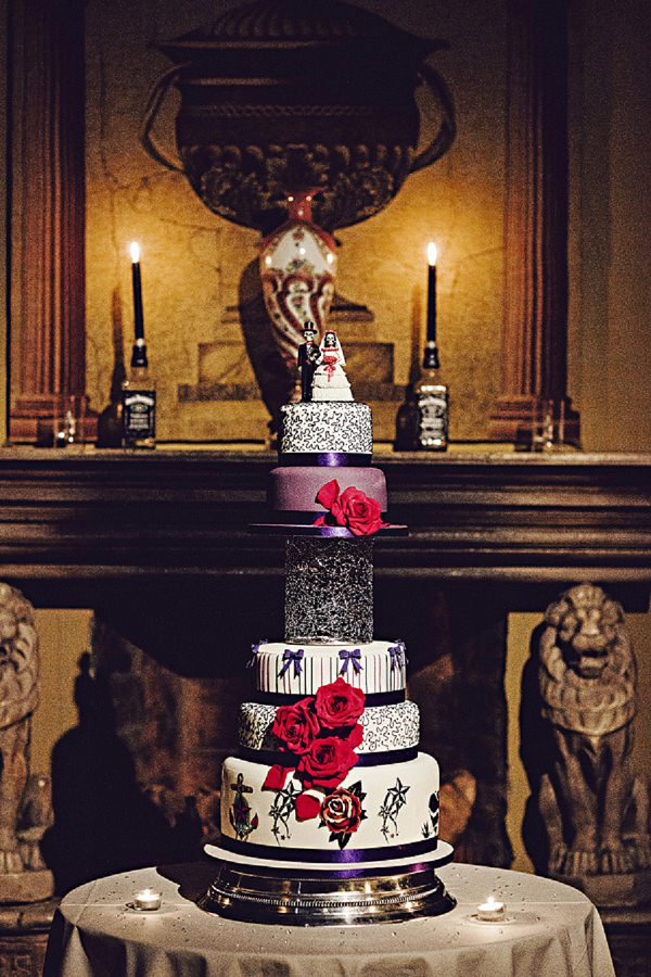alternative cake wedding