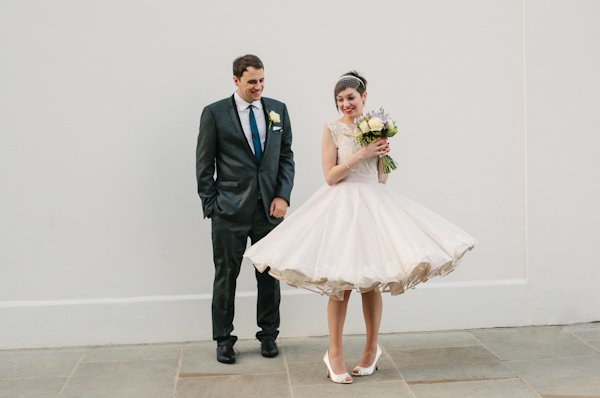 stylish london wedding