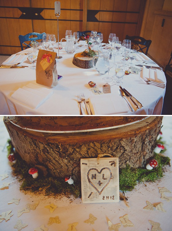 Lucinda and Nick - Ellie Gillard - Alice in Wonderland inspired winter wedding-252