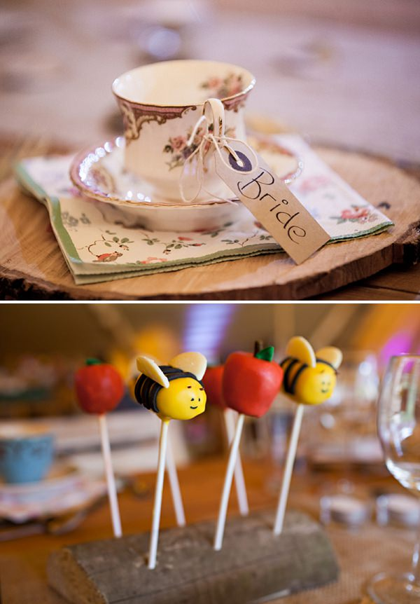 tea cup wedding