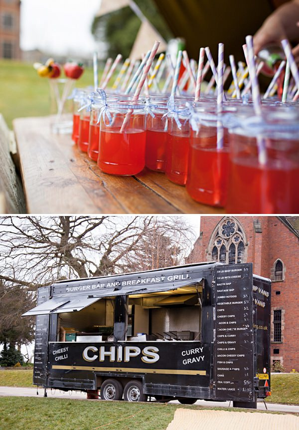 fish and chips wedding