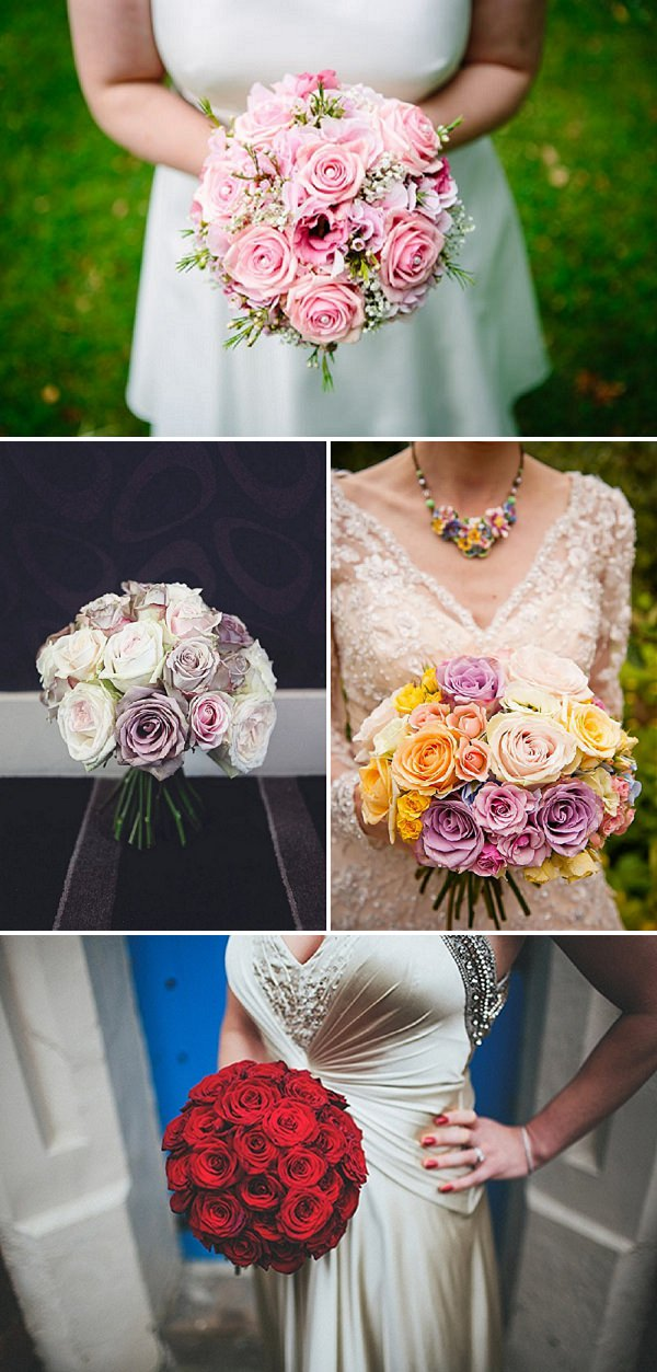 rose bouquet wedding