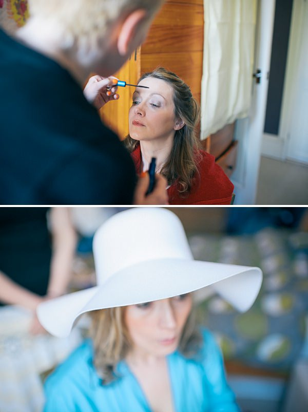 bridal prep wedding
